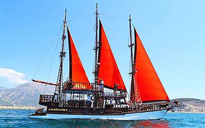 аренда парусного судна в Черногории